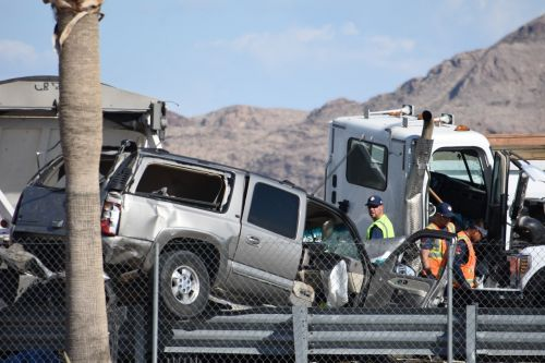 semi-truck accident with vehicle